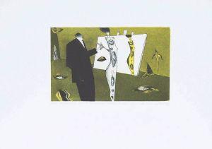 """DMITRUK Jerzy """"Ideał kobiecego piękna jako wzór do naśladowania dla kolejnych pokoleń malarzy"""" z cyklu """"Żywot malarza"""""""