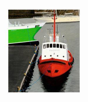 MODZELEWSKI Jarosław Trzy statki w Bergen