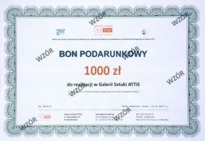 Bon prezentowy Bon podarunkowy - 1000 zł