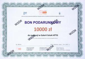 Bon prezentowy Bon podarunkowy - 10000 zł