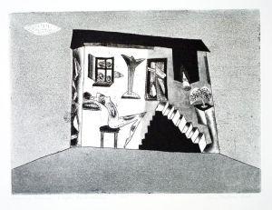 DMITRUK Jerzy Rodzinna sielanka z cyklu Żywot malarza (2005)