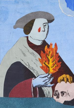 ZDOBYLAK Dawid Portret z ogniem (2018)