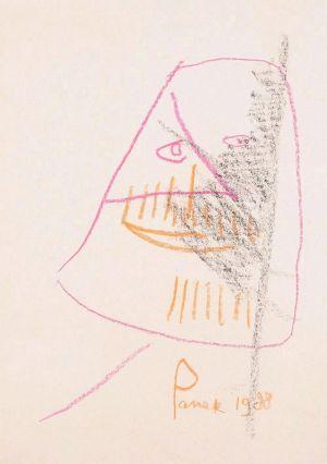 PANEK Jerzy Autoportret II (1988)