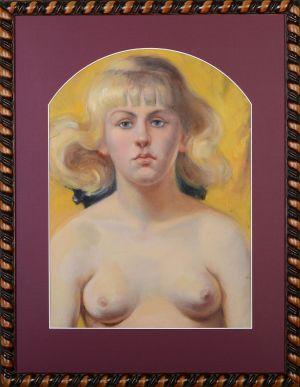 DZWONKOWSKI Aleksander Portret Irenki (1923)
