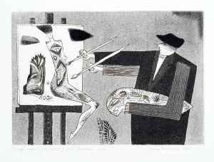 DMITRUK Jerzy Druga ręka z cyklu Żywot malarza (2003)