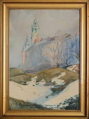 TUREK Franciszek Wawel zimą