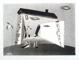DMITRUK Jerzy Obraz poezji z cyklu Żywot malarza (2007)