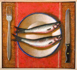 ZDOBYLAK Dawid Martwa natura z rybami (2020)