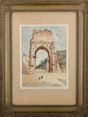 GRAJNERT Edward Ruiny bramy (1901)