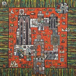 JENTA-DMITRUK Małgorzata Forteca na czerwonej polanie (2019)