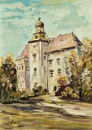 GERLACH Eugeniusz Zamek w Pieskowej Skale