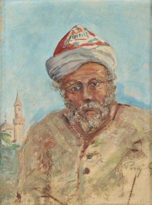 PORAJ-CHLEBOWSKI Wiktor Portret Araba (1920)
