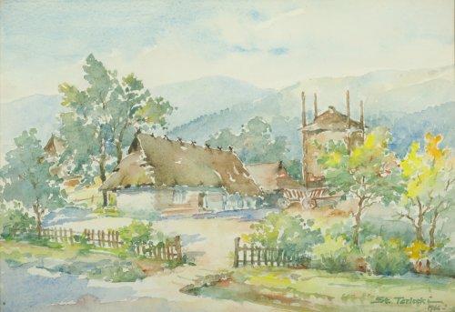 TERLECKI Stanisław Wiejska chata (1966)