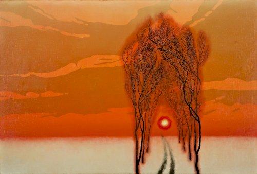 ZDOBYLAK Dawid Aleja drzew, zachód (2021)
