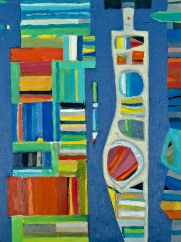 DMITRUK Jerzy Zaczarowany ołówek latający dywan i namalowana kobieta z cyklu akt twórczy (2020)