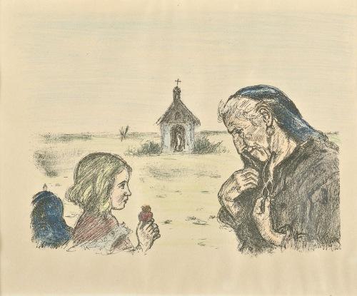 HOFMAN Wlastimil Gorejące serce (1914)