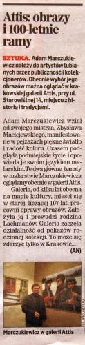Adam Marczukiewicz artykuł