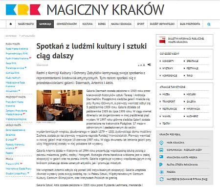 Spotkanie Rady Krakowa