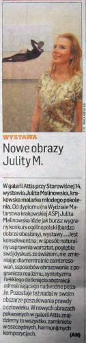 Julita Malinowska artykuł